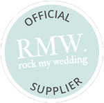 Official RMW Rock My Wedding Supplier