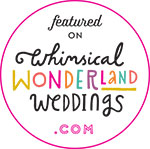 Featured on Whimsical Wonderland Weddings.com