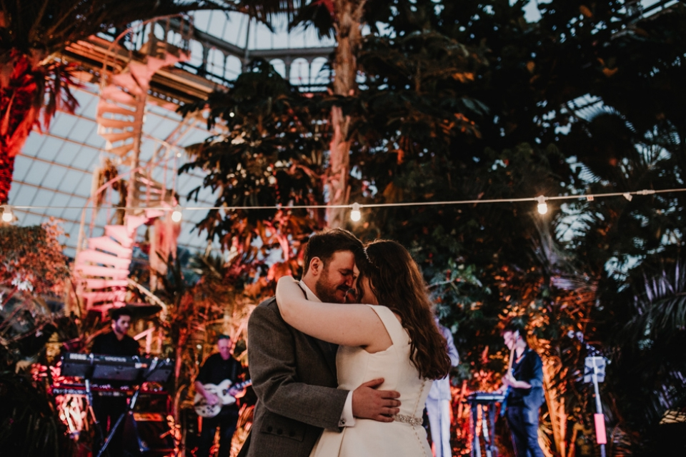 first dance at sefton palm house