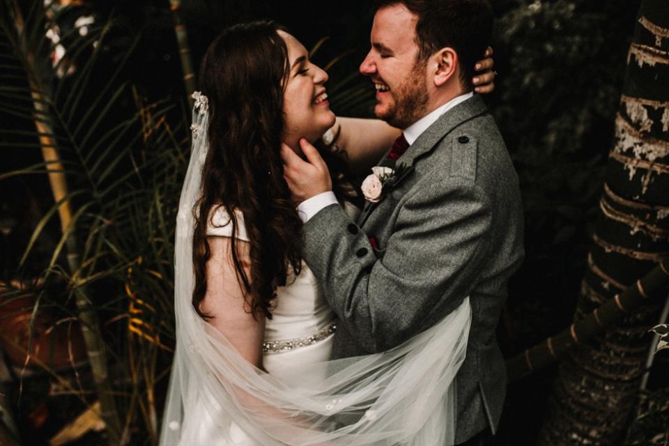 bride and groom portraits , liverpool wedding venue