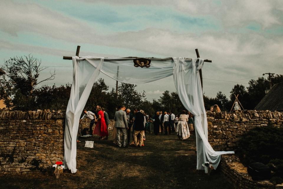 farm wedding decoration