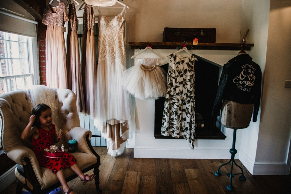 bridal preparation room at west mill