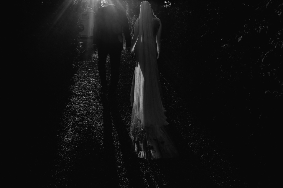 warm dark and moody wedding photography