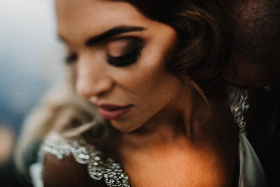 close up alternative beautiful wedding photography