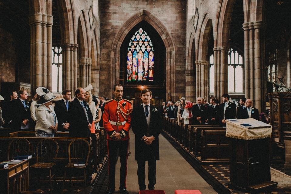 church wedding ceremony - anticipation