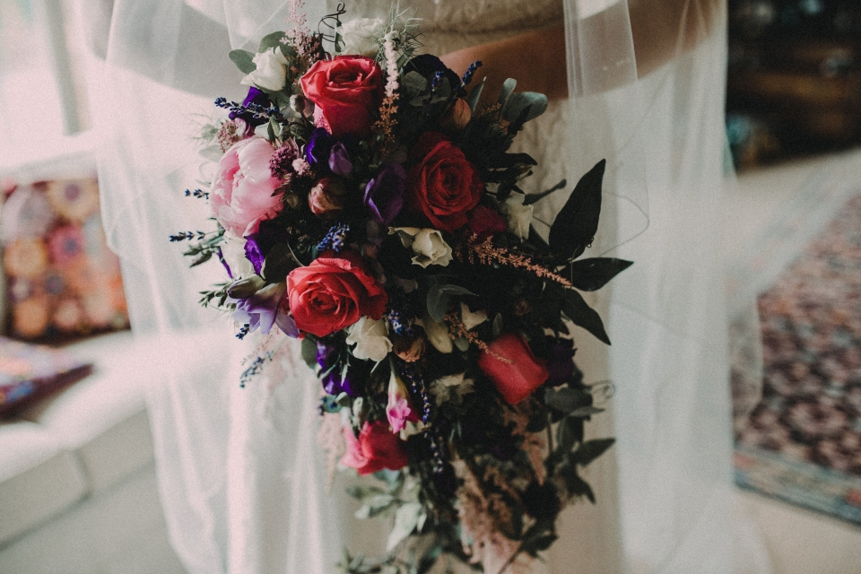 wild bouquet - rustic flowers