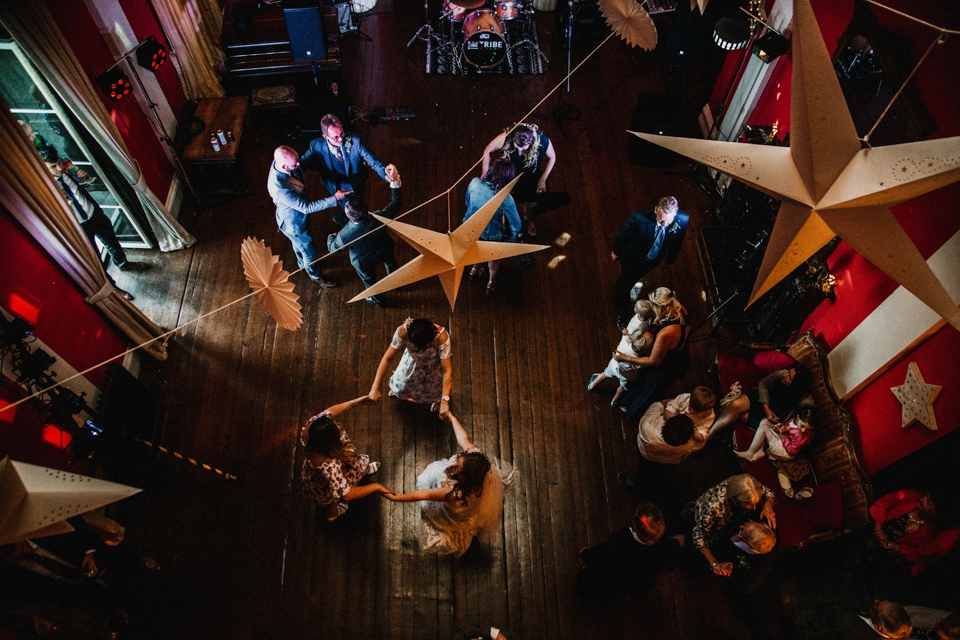 beautiful dancing at devon country house wedding