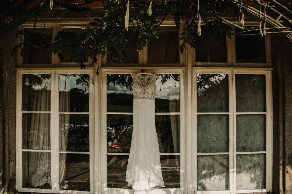 dress by wed2b devon buckland house