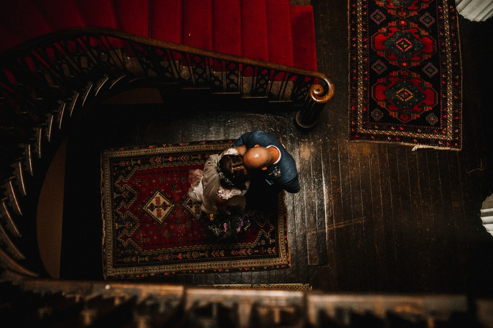 couple portraits at buckland house filleigh