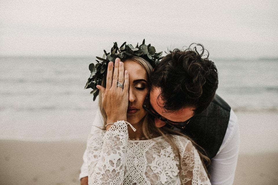 alternative and creative wedding photography