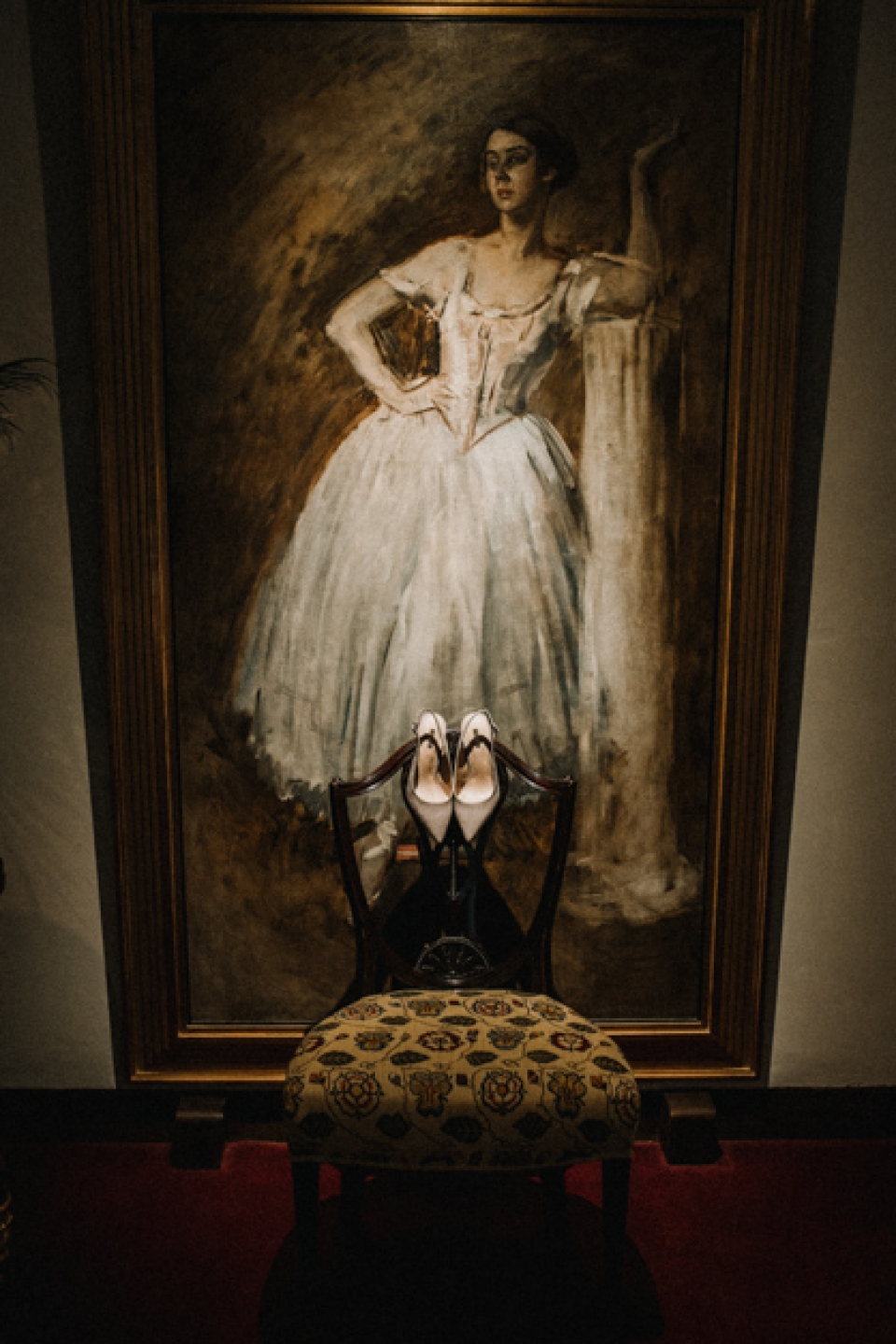 bride shoes , never castle art work