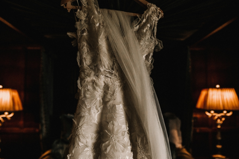the couture wedding gown