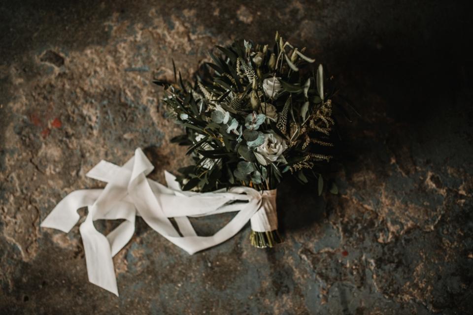 amy annand wedding bouquet , kinkell byre wedding