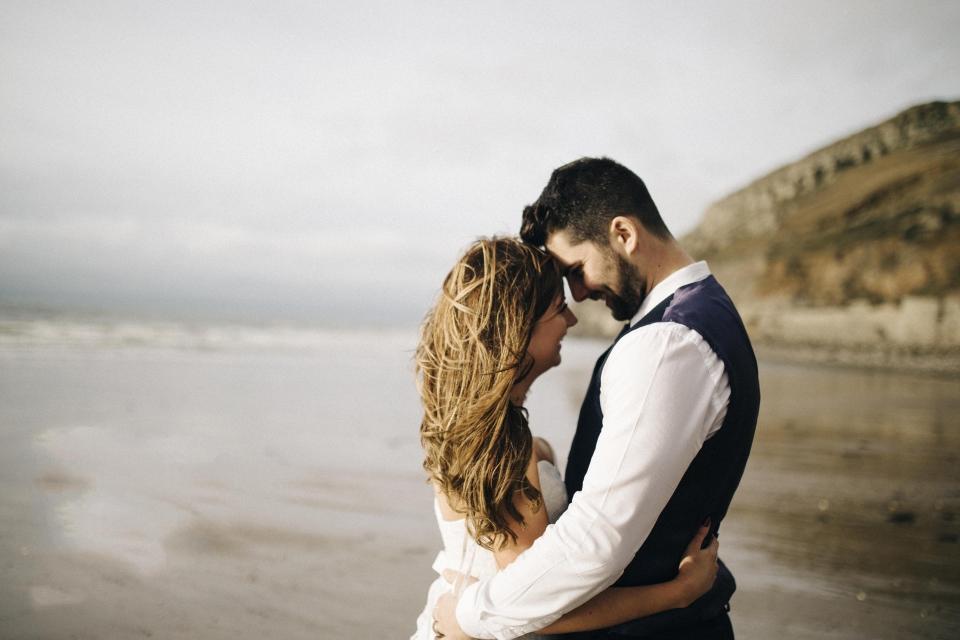 romantic wedding photography north wales