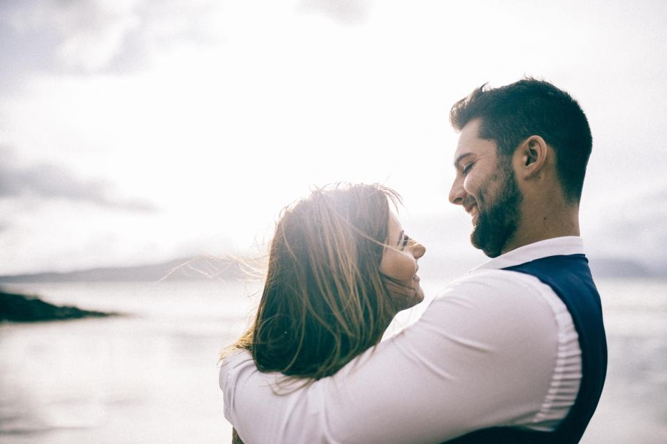 beautiful wedding couple beach destination photographer