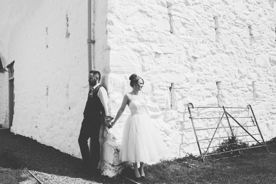 first look ,weddings, hafod farm