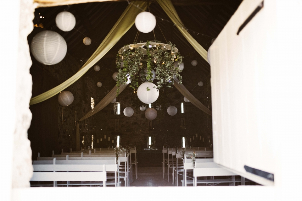 beautiful ceremony ideas, hafod farm