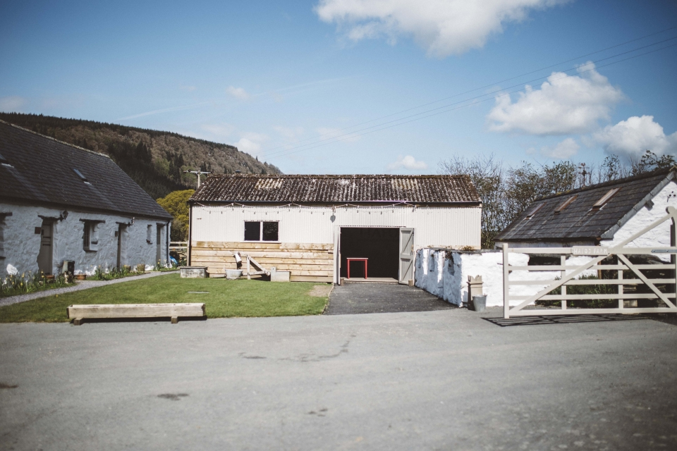 Wedding venue, hafod farm