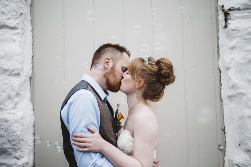 bubbles, wedding photography