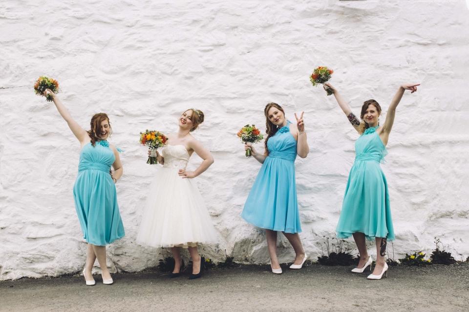 fun bridesmaids shots