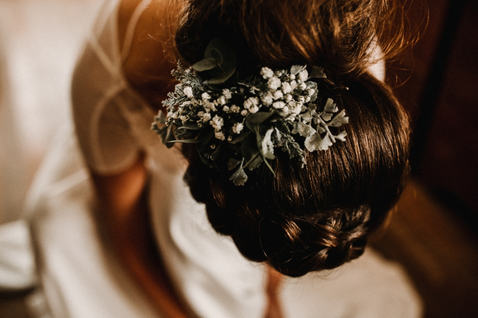 bridal preparations details