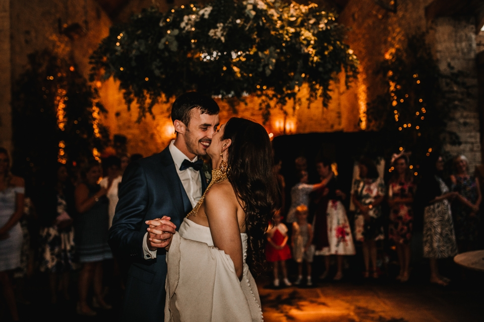 epic first dance photography on wedding day