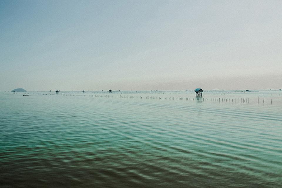 Fisherman villages in Koh Phangan